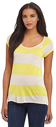 Vince Camuto TWO By Stripe Knit Tee