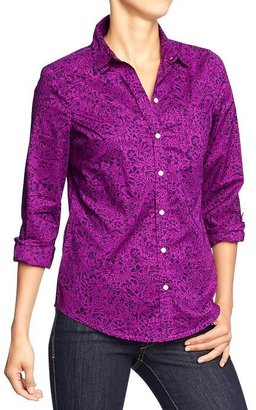 Old Navy Women's Printed Shirts