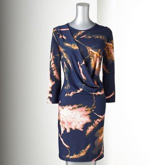 Vera Wang Simply vera leaf dress