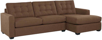 JCPenney Midnight Slumber 2-pc. Sectional - Left-Arm Sleeper, Right-Arm Chaise
