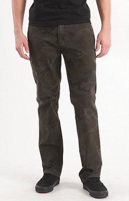 Camo Bullhead Gravels Slim Chino Pants