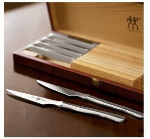 Zwilling J.A. Henckels Boxed Stainless-Steel Steak Knife Set