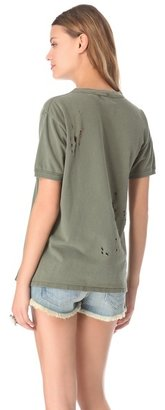 WGACA Army Distressed Tee