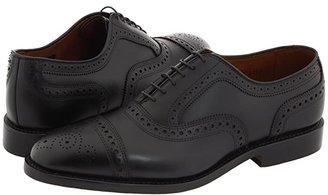 Allen Edmonds Strand (Burnished Olive) Men's Lace Up Cap Toe Shoes
