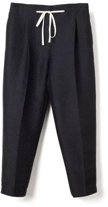 3.1 Phillip Lim Preorder Polka Dot Print Silk Pleated Peg Pant