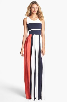 French Connection 'Medina' Stripe Maxi Dress