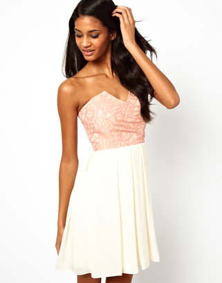 TFNC Prom Dress with Lace Bodice
