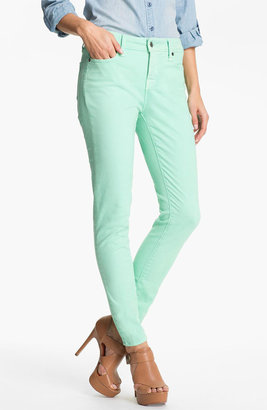 Nordstrom Blue Essence Skinny Twill Ankle Jeans Online Exclusive)