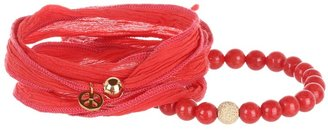 The Cool People Dee Berkley for Coral Crush Bracelet (Coral) - Jewelry