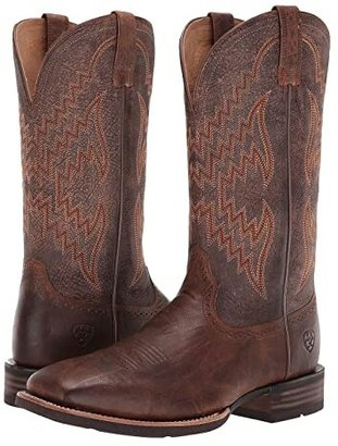 Ariat Tycoon (Sorrel Crunch/Tack Room Honey) Cowboy Boots