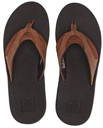 Reef Fanning Leather (Bronze) Men's Sandals