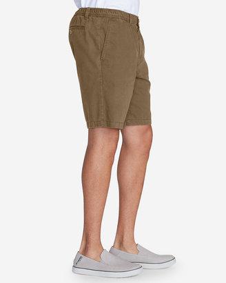 Eddie Bauer Men's Legend Wash Elastic Waist Chino Shorts