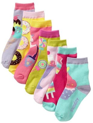 Gap Days of the week graphic socks (7-pack)
