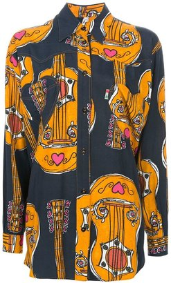 Moschino Vintage Picasso print blouse
