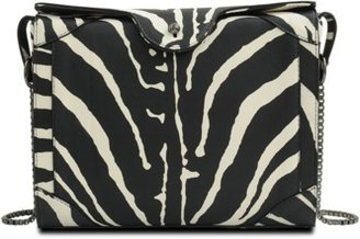 Carven Zebra chain clutch
