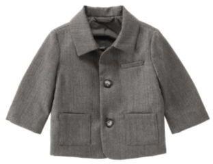 Janie and Jack Herringbone Suit Jacket