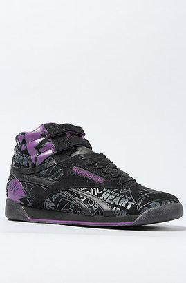 Reebok The Alicia Keys x Freestyle Hi Sneaker in Green