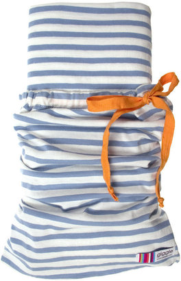 giggle Better Basics Fitted Striped Crib Sheet - (Organic Cotton)