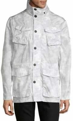 DKNY Camouflage Field Jacket