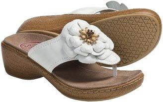 Klogs USA Aloha Thong Sandals - Leather (For Women)