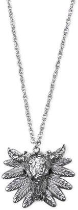 MANGO Buffalo pendant necklace