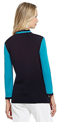 Misook Mandarin Collar Jacket