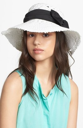 Nordstrom Straight Brim Straw Hat
