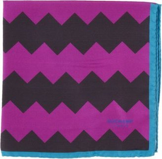 Duchamp Mega Zag Pocket Square