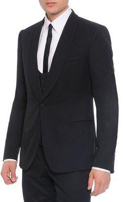 Dolce & Gabbana 3-Piece Shawl-Collar Suit $850 thestylecure.com