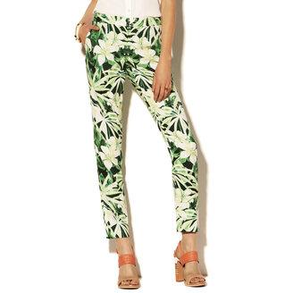 Vince Camuto Tropic Printed Pant