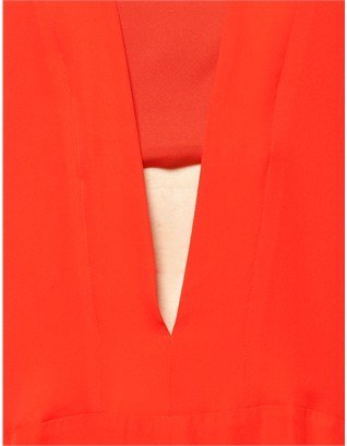 Narciso Rodriguez Zest Silk Cut-Out Dress