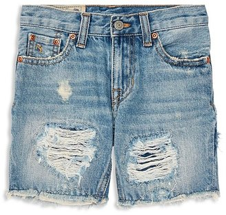 Ralph Lauren Childrenswear Boys' Denim Cutoff Shorts - Little Kid
