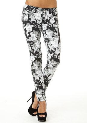 Jalate Jeans Floral Skinny Jean