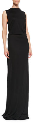Derek Lam 10 Crosby Knotted Open-Back Maxi Dress