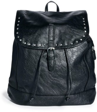 Pieces Pianna Black Stud Backpack