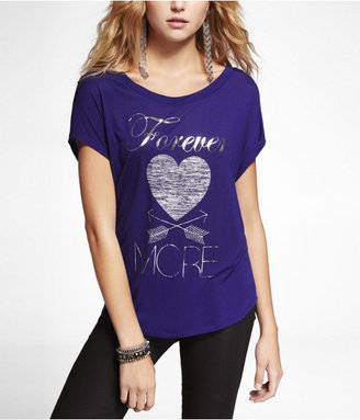 Express Dolman Graphic Tee - Forever More