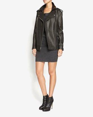 Elizabeth and James Renley Oversized Leather Jacket