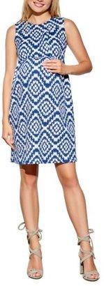 Women's Maternal America 'Vintage' Textured Maternity Dress $148.80 thestylecure.com