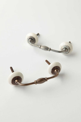 Anthropologie Zinnia Handle - Antique Brass