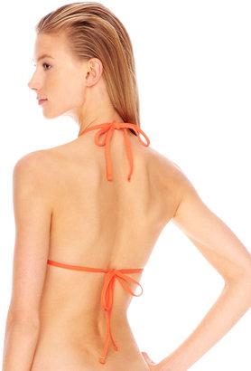 Michael Kors MICHAEL Studded Halter Triangle Top & Studded Tie-Side Swim Bottom