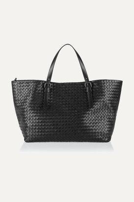 Bottega Veneta - Intrecciato Leather Tote - Black $3,950 thestylecure.com
