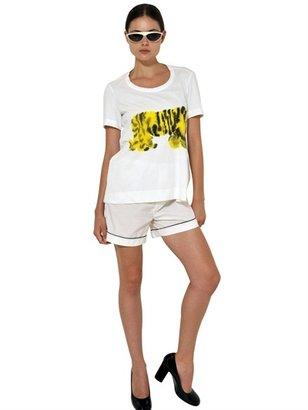 Marni Tiger Printed Cotton Jersey T-Shirt