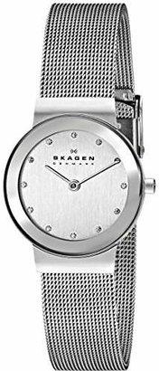 Skagen Women's Ancher Stainless Steel Analog-Quartz Watch with and Mesh Strap