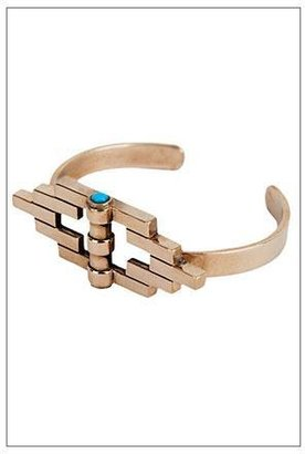 Pamela Love Empire Reflection Cuff in Bronze with Turquoise