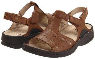 P.W. Minor Trina (Dark Tan Leather) - Footwear