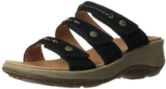 ACORN Women's Vista 3-Strap Wedge Sandal $29.95 thestylecure.com