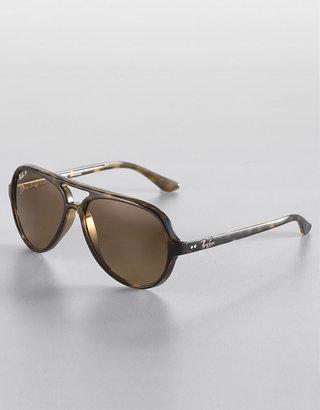 Ray-Ban Plastic Aviator Sunglasses