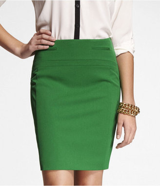Express Welt Pocket Pencil Skirt