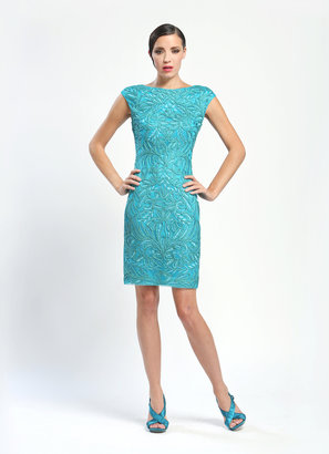 Sue Wong C3535 Dress In Turquoise
