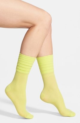 Kensie Ruffle Cuff Socks
